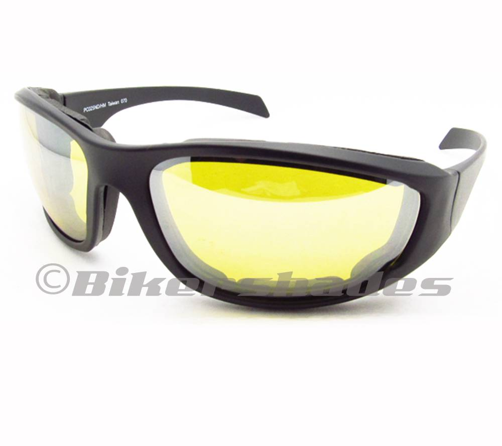 Large Frame Motorcycle Glasses Goggles CLEAR Lens Riding ...