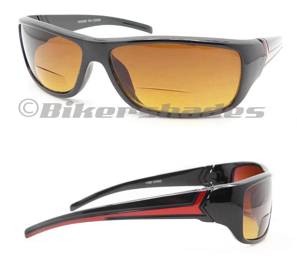 bifocal glasses fei0  Motorcycle-Bifocal-Sunglasses-Blue-Blocker-HD-Vision-Reader