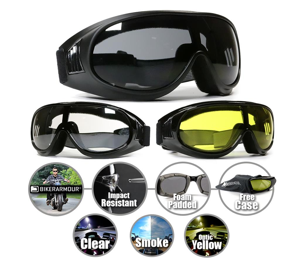 biker goggles  Motorcycle Fit Over Rx Glasses Goggles Riding Biker Sports Ski ...