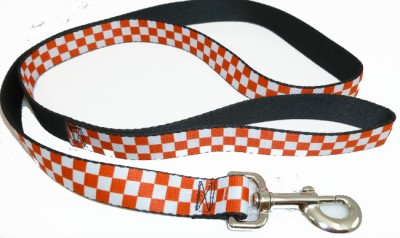 RED OR Black Checkered Seat Belt Buckle DOG Collars OR ...