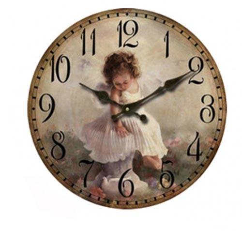 clock french country vintage inspired wall clocks time
