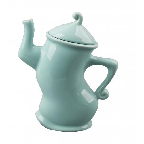Collectable Teapot Lady With Attitude Mint China Tea Pot