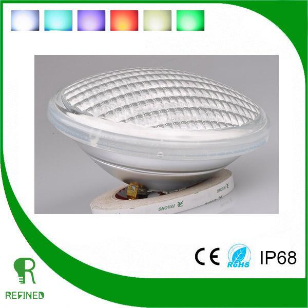 led par56 ampoule lampe projecteur piscine clairage t l commande 40w rgb. Black Bedroom Furniture Sets. Home Design Ideas