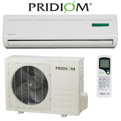 12000 BTU Heat Pump Pridiom Mini Split Scratch Dent Read First