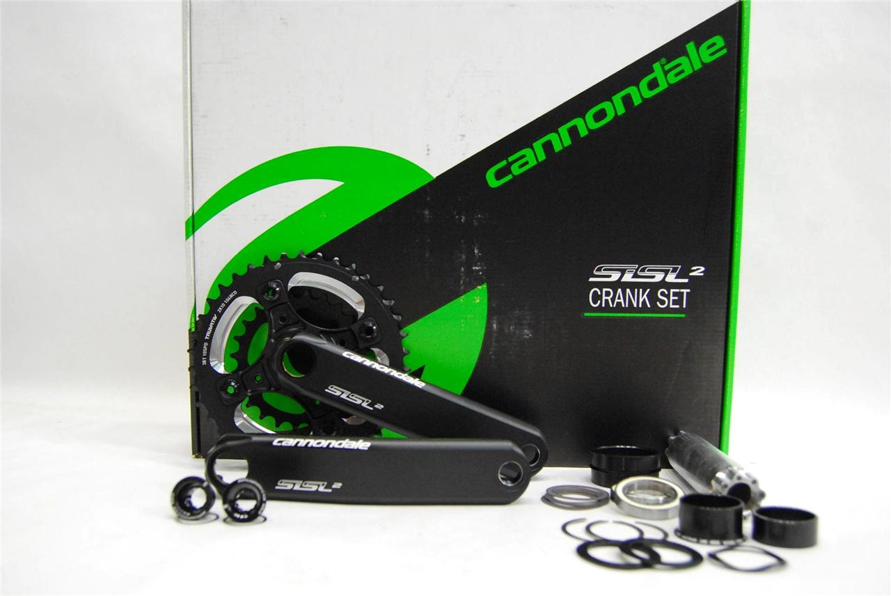 Cannondale-Hollowgram-SiSL2-Crankset-Bottom-Bracket-24-38-2x10-Speed-BB30-NEW