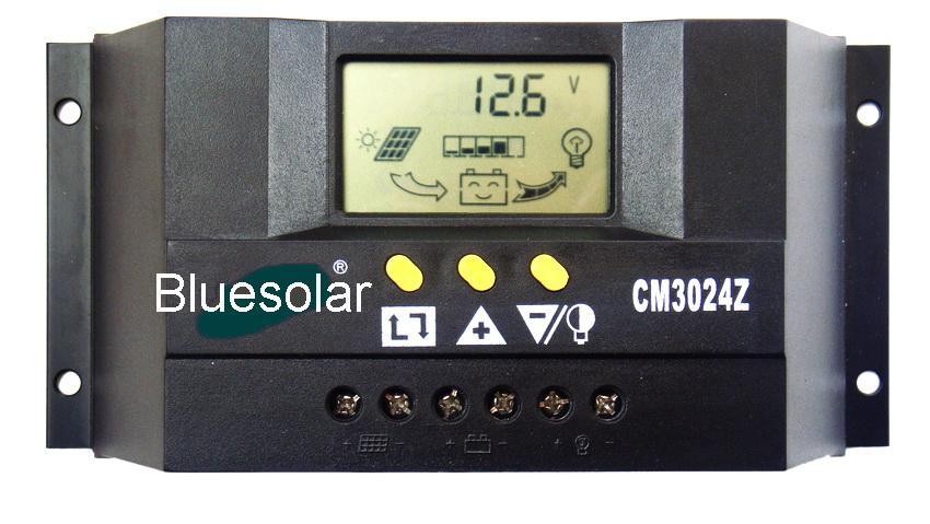 Контроллер заряда для солнечных батарей 30А 12/24В технические характеристики.