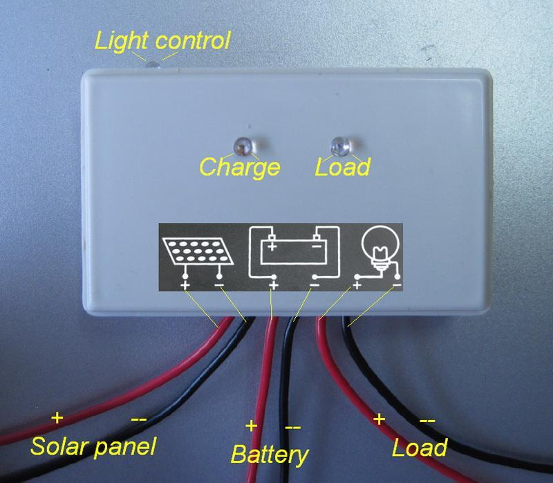 10 Watt Solar Panel 10W 12V  5A Solar Controller Regulator Charger   eBay