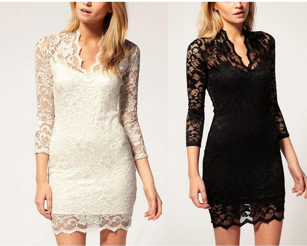 Simple  Dress For Women Patterns Of Lace Evening Dress Latest Net Dress Design
