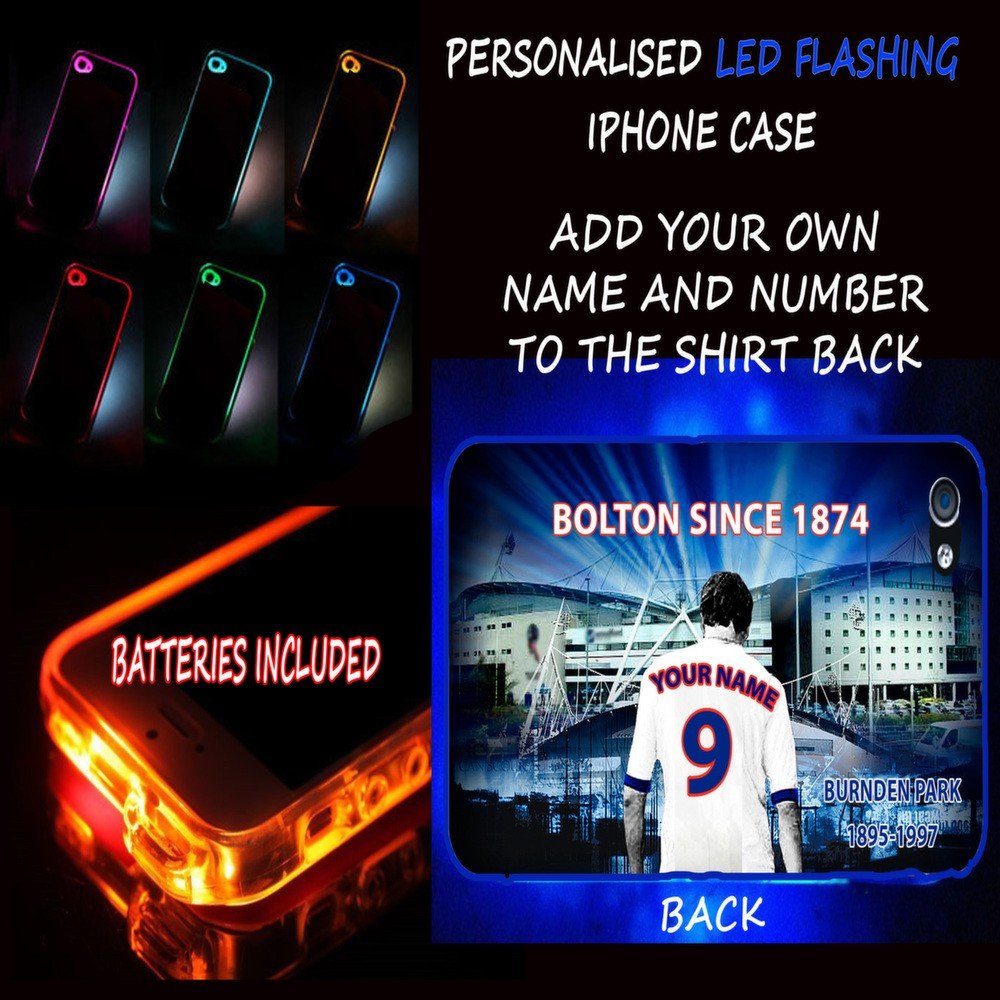 PERSONALISED-UNOFFICIAL-BOLTON-WANDERERS-FLASHING-LED-IPHONE-TPU-HARD-CASE