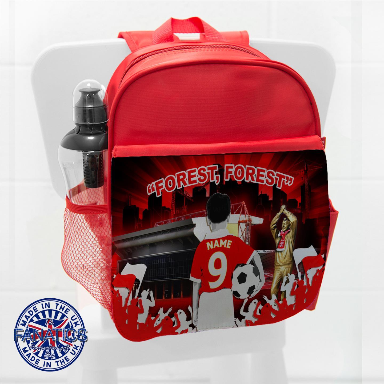 Nottingham-Football-School-Bag-Backpack-Boys-Childrens-Kids-Personalised-CF40