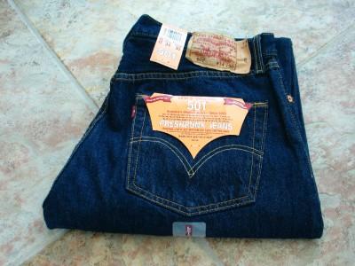 levis 501 herren jeans rinsed indigo groesse waehlbar ebay. Black Bedroom Furniture Sets. Home Design Ideas
