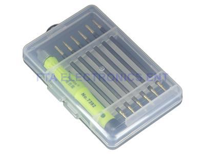 12 tips computer tablet mobile phone repair tool kit mini screw screwdriver s. Black Bedroom Furniture Sets. Home Design Ideas