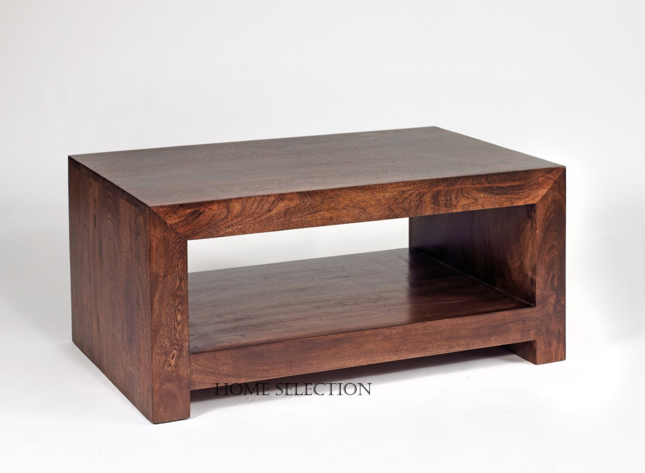 Toko Solid Mango Wood Contemporary Coffee Table Small Ebay