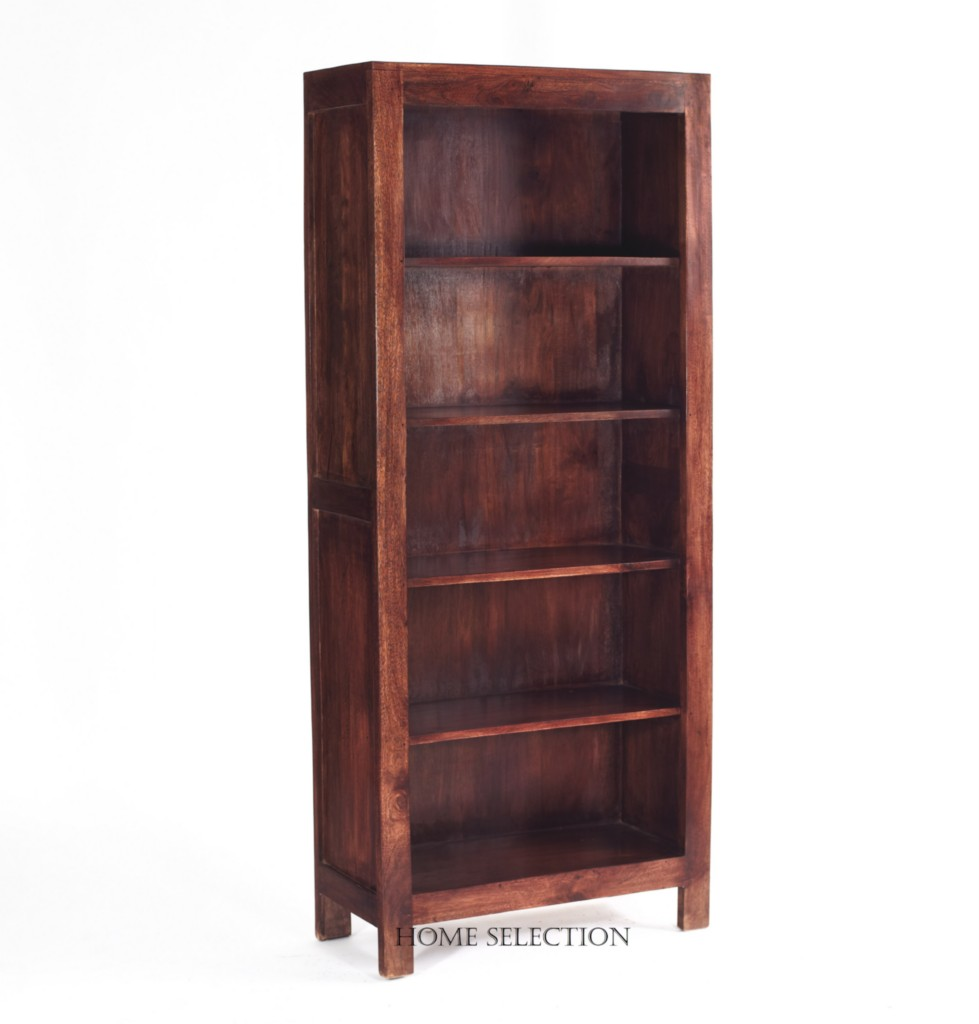 Large Wooden Bookcases ~ Toko solid mango wood large bookcase shelves ebay