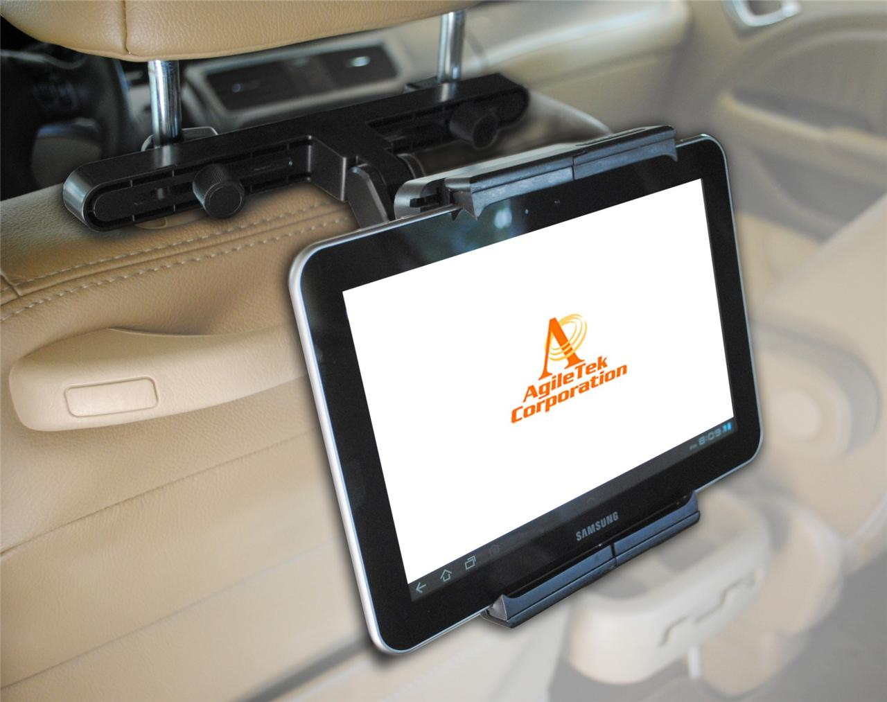 Car Headrest Tablet SmartPhone Mount Holder for iPad ...