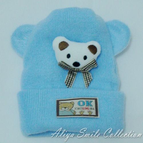 Newborn Baby Crochet Hat Cute Infant Winter Caps SZ 0 3 Months 5 Color