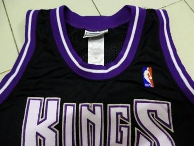 Vintage Authentic Puma Sewn Jason Williams 55 Sacramento Kings Player