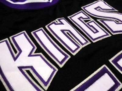 Vintage Authentic Puma Sewn Jason Williams 55 Sacramento Kings Player NBA Jersey
