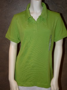 New womens cutter buck drytec no button golf polo shirt for Cutter buck polo shirt size chart
