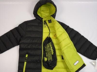 New Boys Snozu Packable Ultra Light Down Puffer Jacket
