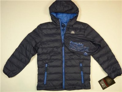 New Boys Snozu Packable Ultra Light Down Puffer Jacket
