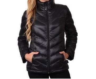New Women S Calvin Klein Premium Down Packable Lightweight