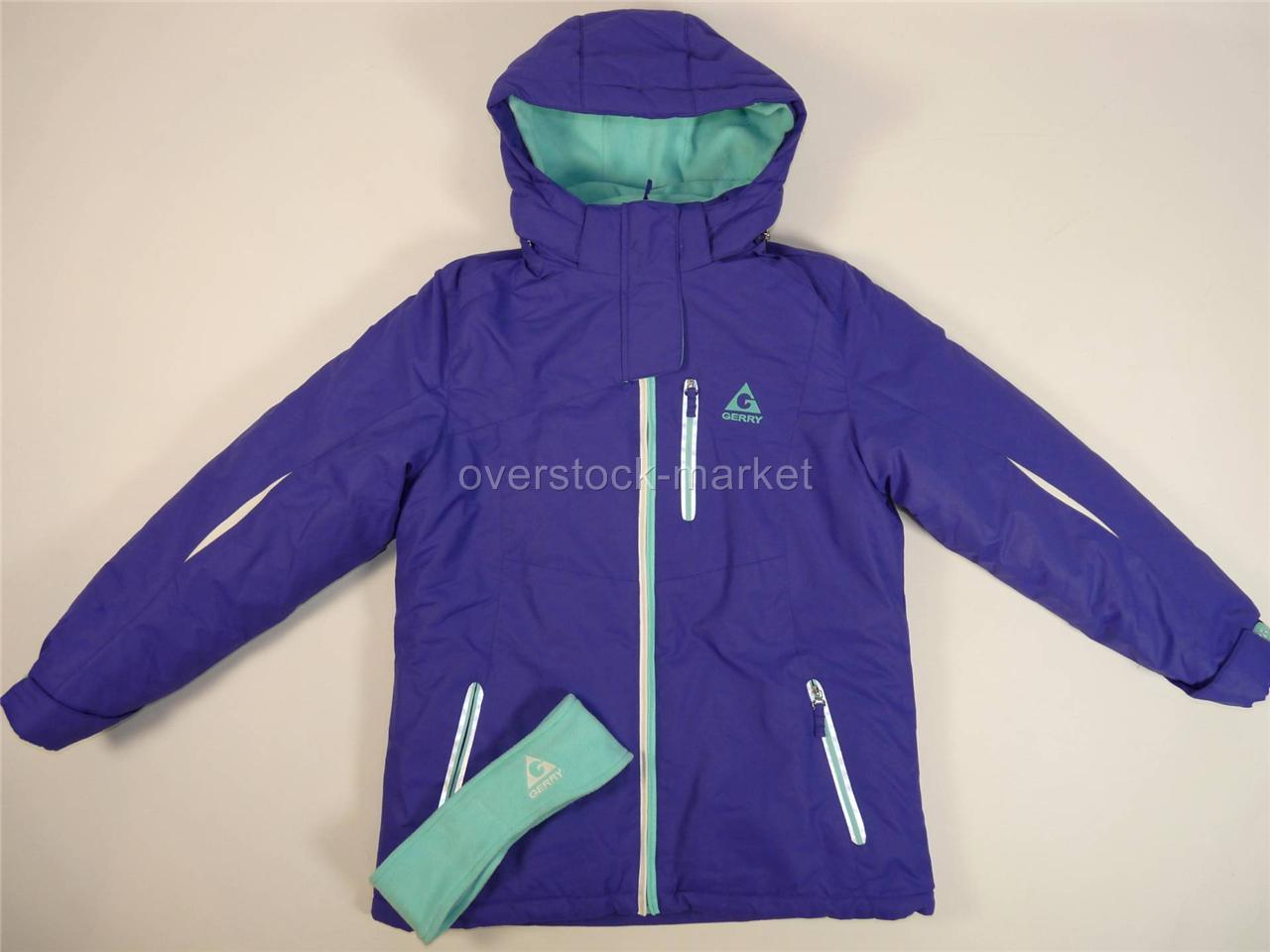 NEW GIRLS GERRY 3 IN 1 SYSTEMS JACKET! SKI PARKA COAT! WIND/WATER