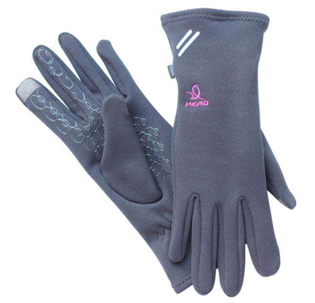 Head Multi Sport Gloves With Sensatec Black Large: New Women Head Digital Sport Running Glove Athletic Glove