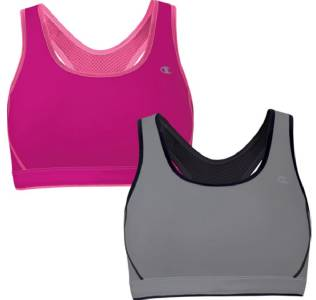Top Sports Bras brands Champion - Sports Bras Nike - Sports Bras Under Armour - Sports Bras Glamorise - Sports Bras C9 Champion - Sports Bras; Clear all Refine By Fashion and function all in one, with this Danskin Now Reversible Cami Sports Bra. Great fit, Reversible, Medium impact. Adjustabl e back straps. Seamless for everyday comfort.