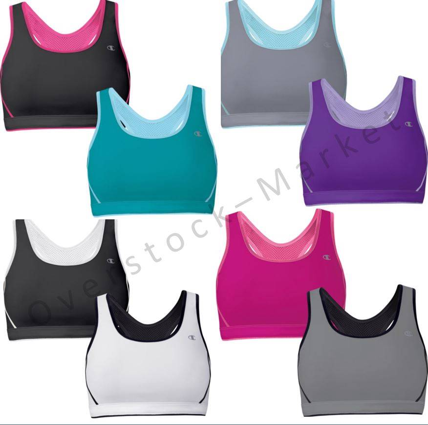 Champion Sports Bras Champion High Support Sports Bras Sort by: RESET - Product Name Product Name - desc Price - low to high Price - high to low Model Date Added - New to Old Date Added - Old to New Products per page: 15 30 60