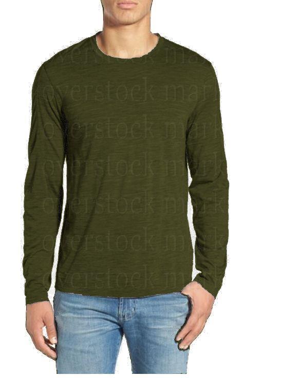 Karbon clothing men 100 merino wool crew neck long sleeve for Merino wool shirt long sleeve