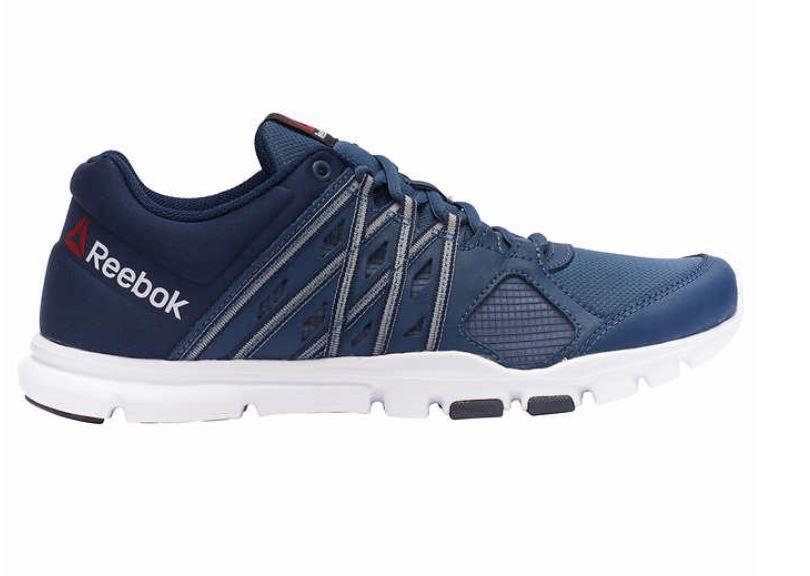 new men 39 s reebok yourflex train 8 0 shoe sneaker memory. Black Bedroom Furniture Sets. Home Design Ideas