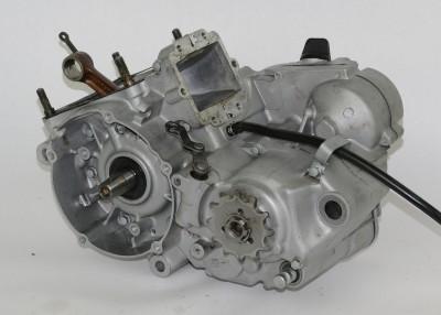 KX125 Stock OEM Engine Motor Bottom End Cases Halfs Crank Gears