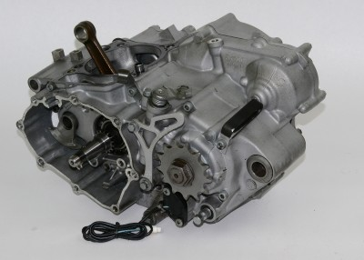 2003 2004 2005 Yamaha YZ250F YZZ Engine Motor Bottom End Cases Crank