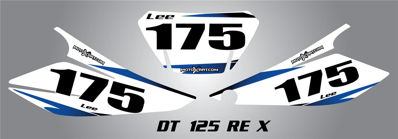 Stickers 125 dt For-yamaha-dt-125-re