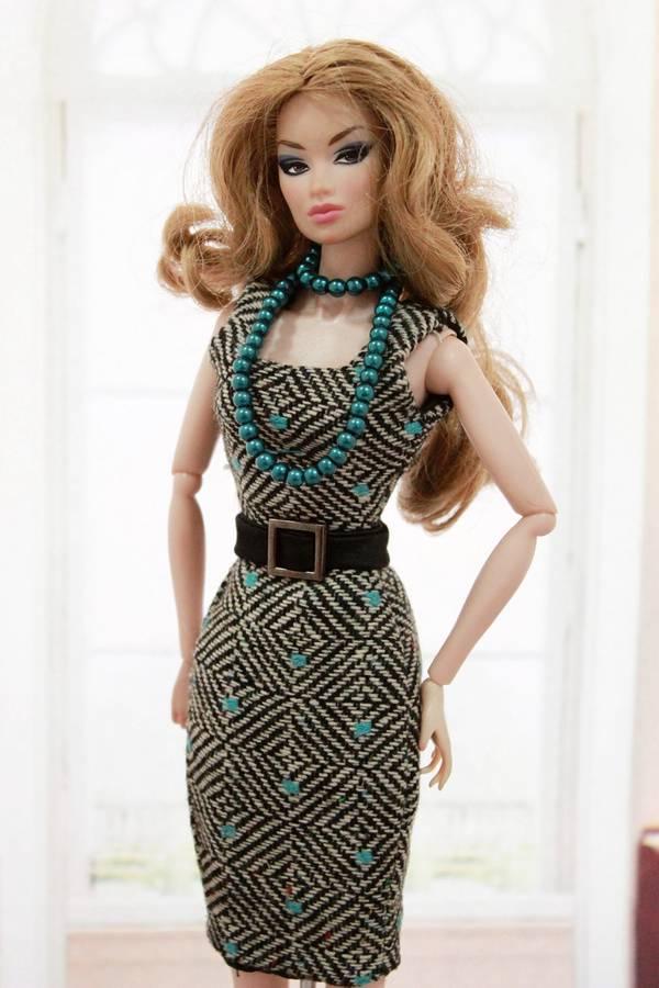 HANDMADE Dress/clothes FOR Barbie DOLL/Vintage Barbie ...