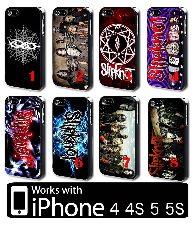 Case Design slipknot phone case : Slipknot Number 5 Slipknot-iphone-4-4s-5-5s-hard