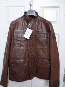 Belstaff Warrington Walnut