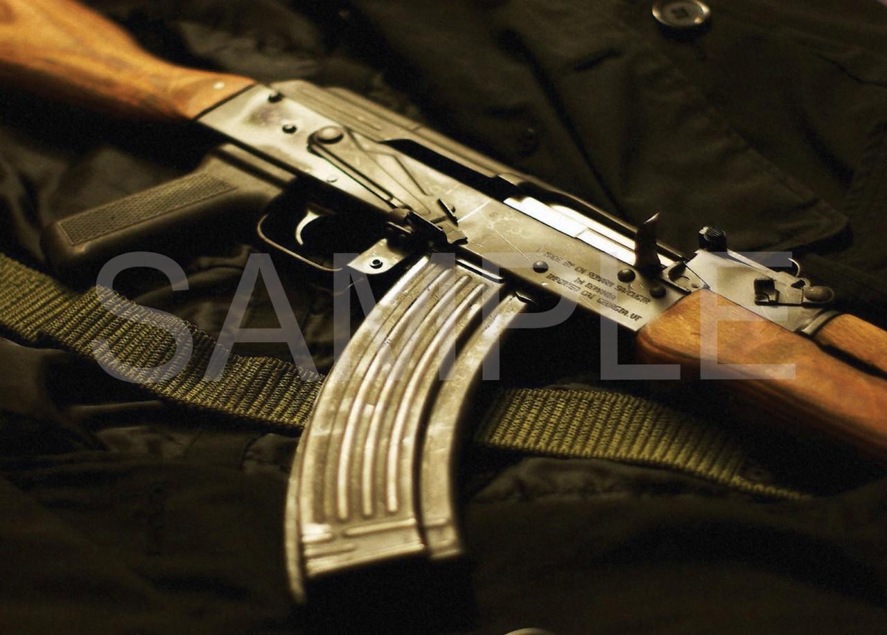 Ak 47 Art Ak 47 gun a3 poster art print