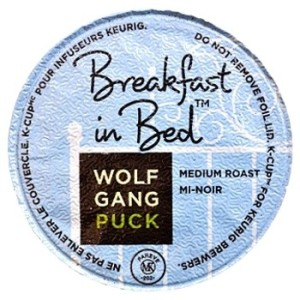 Tasting Keurigcups on Wolfgang Puck Breakfast In Bed Coffee Keurig K Cups 36ct   Ebay