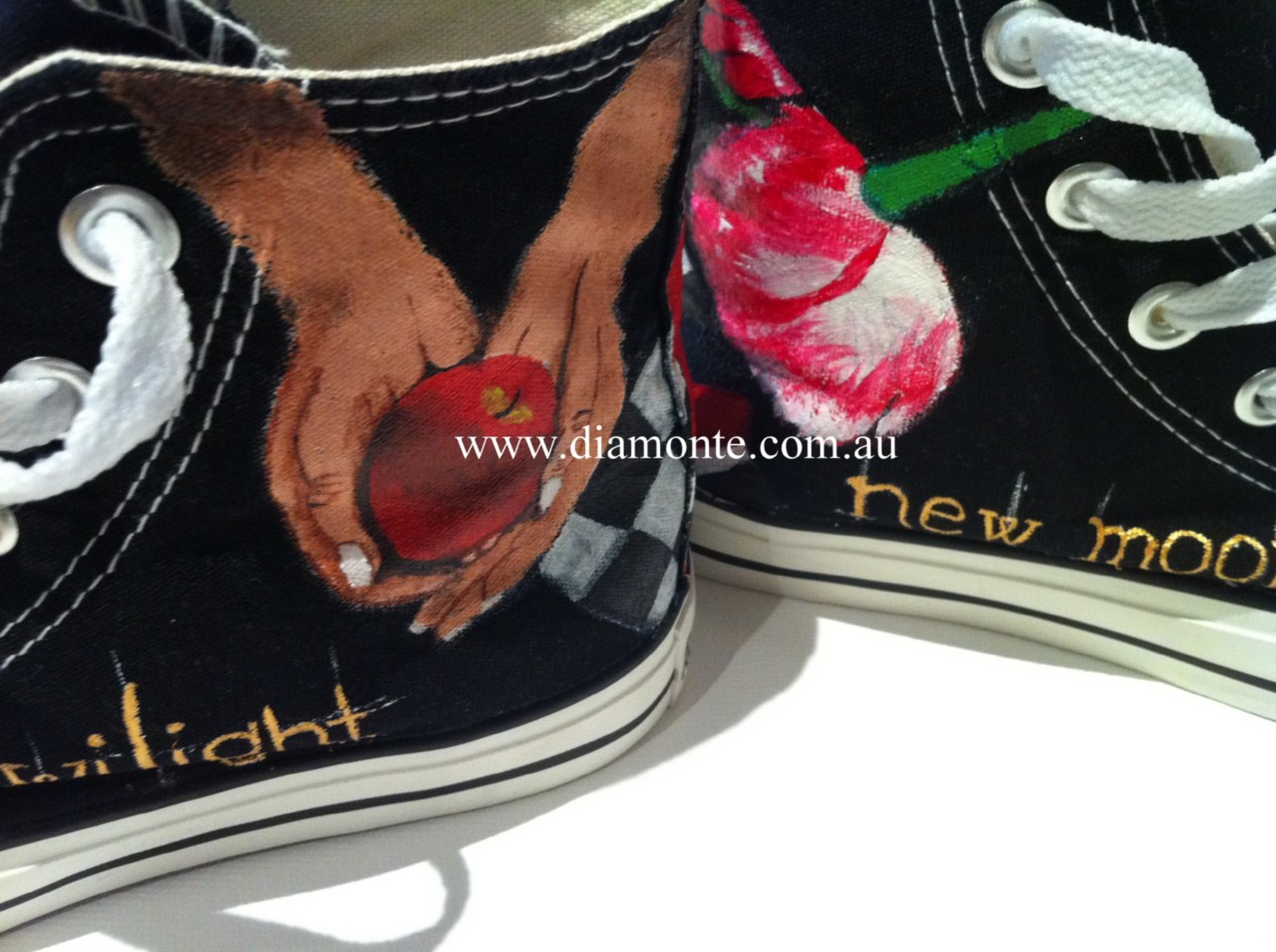 The-Twilight-On-Black-Converse-Shoes-Hand-Painted-CO31