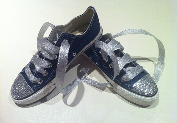 Blue-Converse-Shoes-Featuring-Clear-Swarovski-Crystals