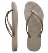 Slim Havaianas thongs featuring Clear Swarovski Crystal Ankle Bracelet SWHM1CL
