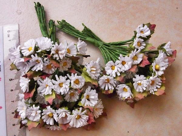 Dollhouse-Miniatures-Mulberry-Paper-Flower-Floral-Home-Garden-Barbie-Blythe-Art