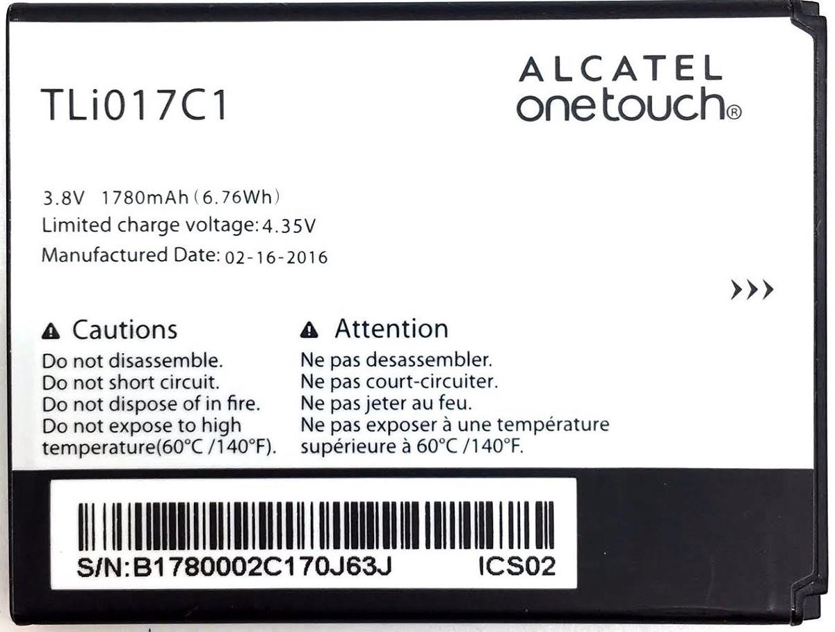 New Oem Alcatel Tli017c1 One Touch Ot 5027b Dawn Ot 4060o