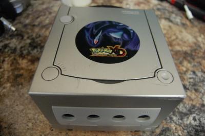 Nintendo gamecube pokemon xd limited edition bundle platinum console ntsc ebay - Gamecube pokemon xd console ...
