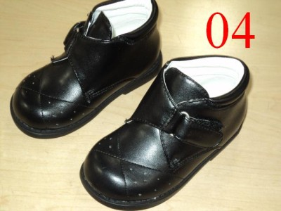 Boys Wedding Shoes on Baby Boy Black Leather Shoes Wedding Shoes A  Size 7   Ebay