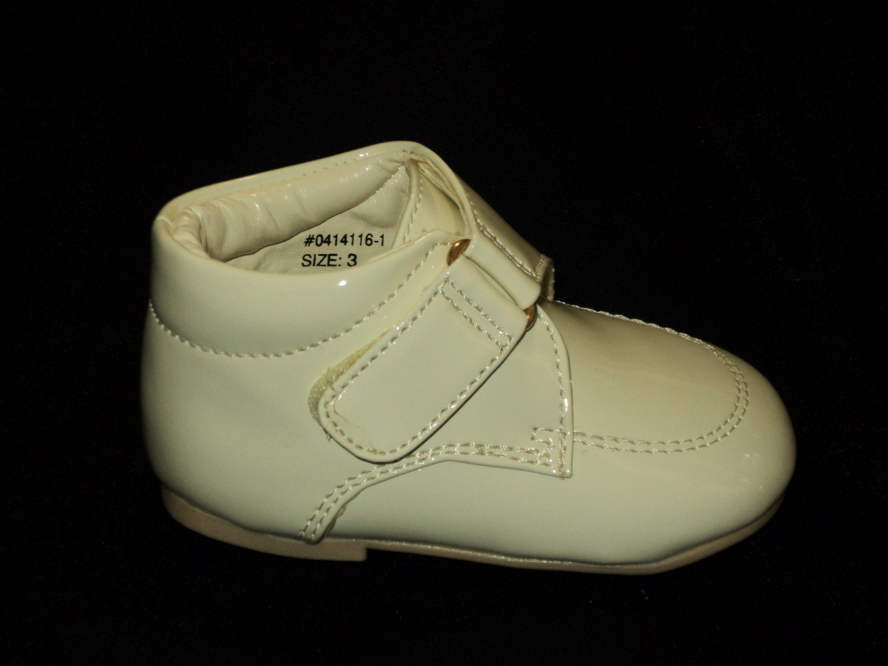 Baby Boy Ivory Beige Leather Dress Shoes Wedding 16 1 Size