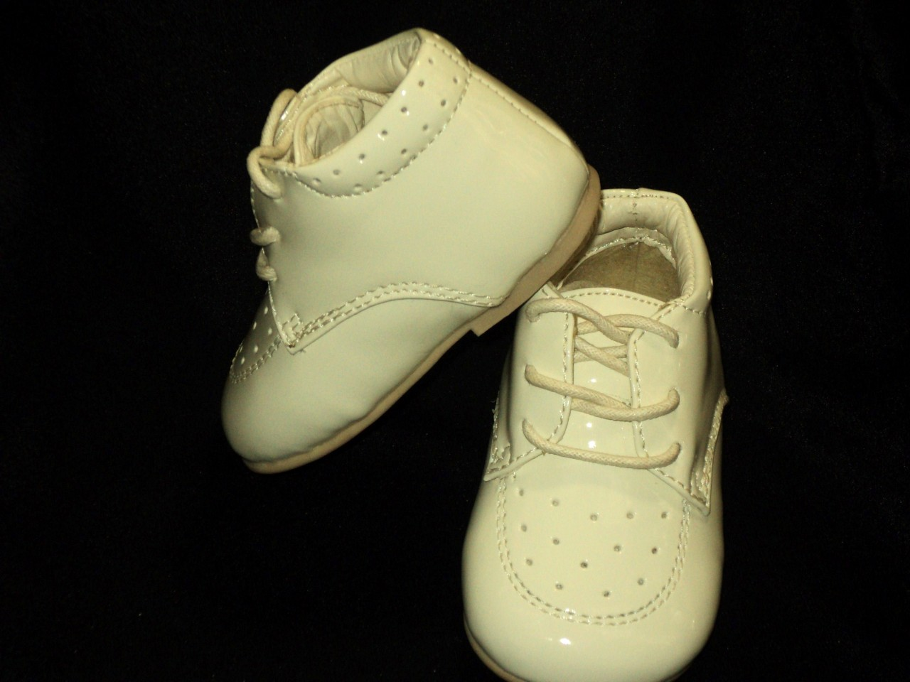 baby boy ivory beige dress shoes wedding ivory 15 1 size 2