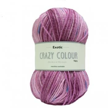 Exotic Crazy Colour 10 Ply